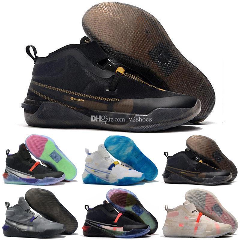 Arrvial Mens AD NXT FF Vaste scarpe grigie Pallacanestro Giorno FASTFIT 24 Formatori cestini Sneakers