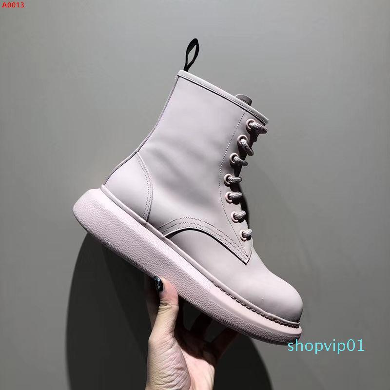 Oxford Shoes for Women Shoes Woman Cow Leather Martin Ankle Female Casual Shoes