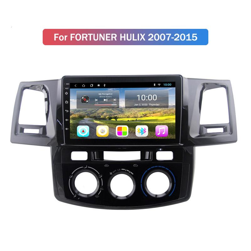 2G RAM 10.1 INCH Car Radio Gps Navigation for Toyota FORTUNER HILUX 2007 2008 2009 2010-2015 Android 10 Car DVD Player