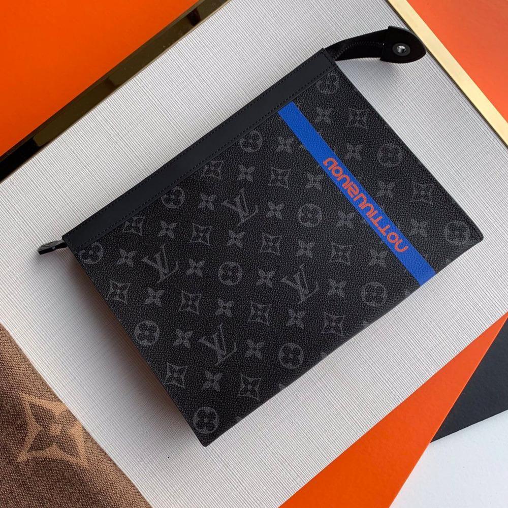 bolso de los hombres del tamaño alta maletín 26 * 20 * 5 cm caja de regalo # 1111187 whatsyan03