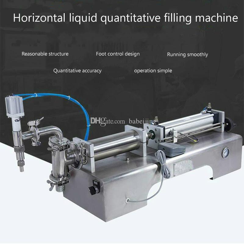 Machine automatique de remplissage de liquide pneumatique à usage professionnel quantitative petite machine de remplissage de liquide