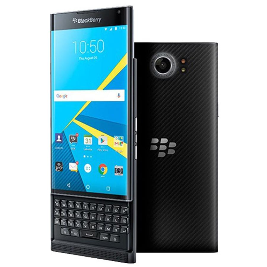 Recuperado Original Blackberry Priv 5,4 polegadas Hexa núcleo 3GB RAM 32GB ROM 18MP Câmera Teclado QWERTY 1pcs Desbloqueado 4G LTE entregas DHL