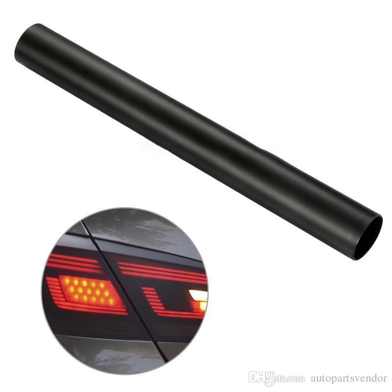 10X 30 * 150cm Matt Fumaça Automobiles Luz Film Car Matte Black Tint Farol Taillight nevoeiro Vinyl Film lâmpada traseira Tinting Filme
