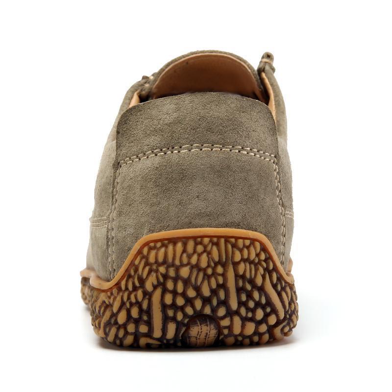 Herbst-Mann-beiläufige Schuh-Breathable Mens Flats Schnürschuh Beleg auf einfache Oxford Male Schuh weiche Unterseite Große Größen