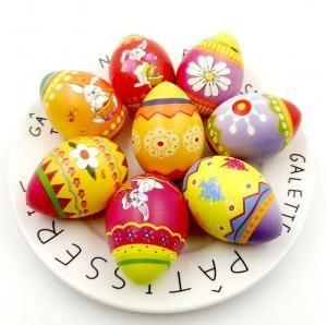 Satın Al Paskalya Yumurtaları Squishy Oyuncak Pu Yavaş Yükselen