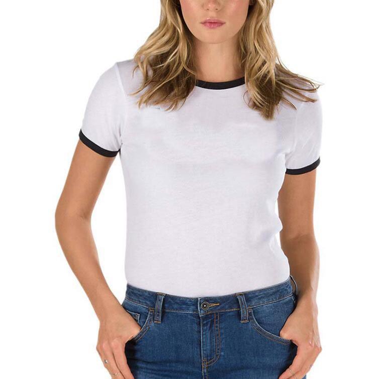 T-shirt da donna di marca T-shirt da donna estate novità di alta qualità moda fresco bianco a maniche corte T-shirt camicia abbigliamento donna