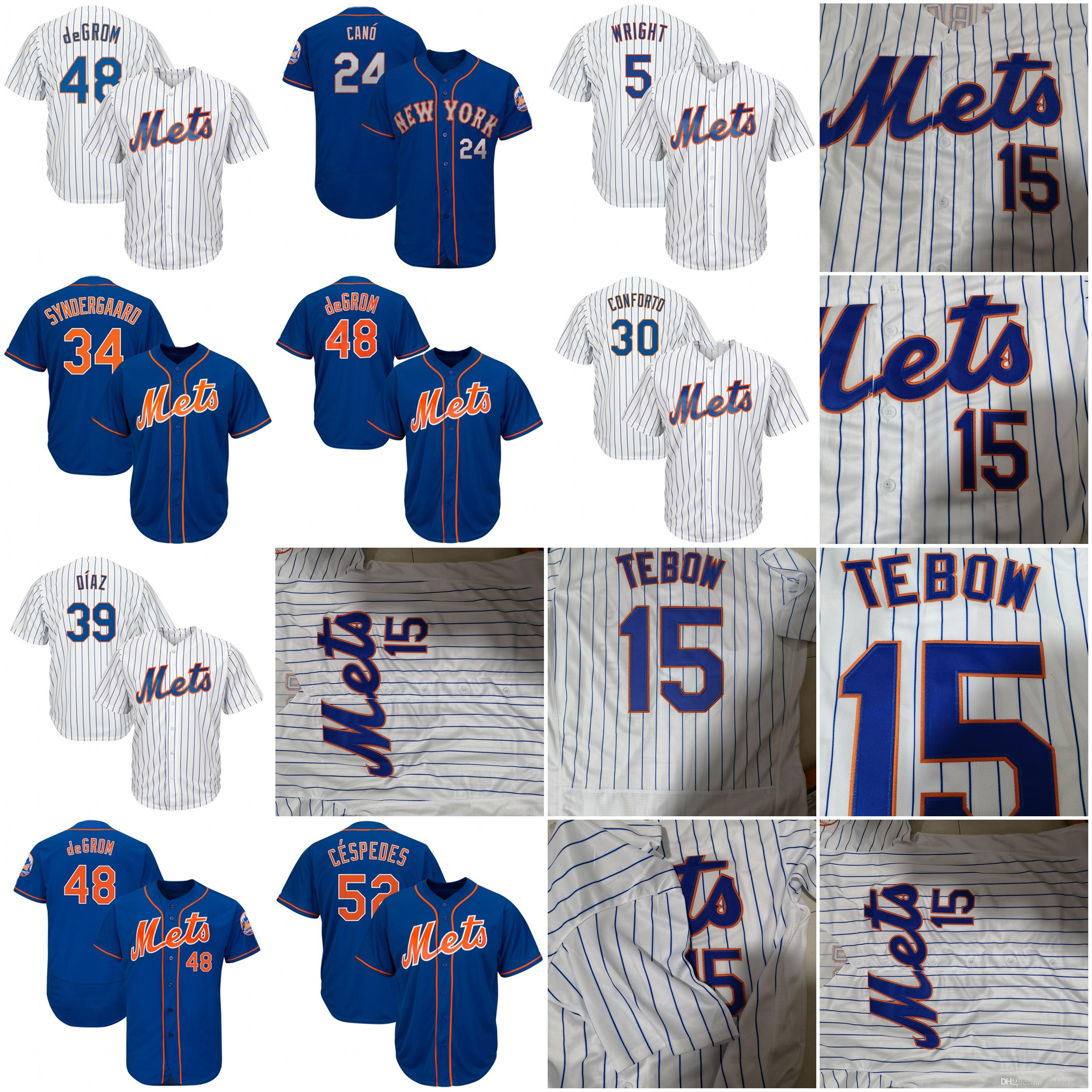size 40 68379 f8483 2019 2019 Mets Jersey Pete Alonso Robinson Cano Broxton Rosario Nimmo  Frazier Conforto Matz Syndergaard Edwin Diaz Ramos DeGrom Cespedes McNeil  From ...