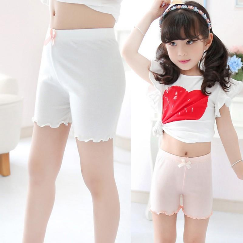 Lace Children/'s Pants Underwear Girls Shorts Stretchy Summer Kids Baby Leggings