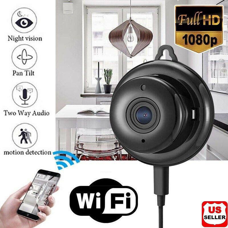 2020 شبكة لاسلكية جديدة بالأشعة تحت الحمراء WIFI IP Camera HD 1080P Smart Home Security Camera Night Vision Security home night vision camera