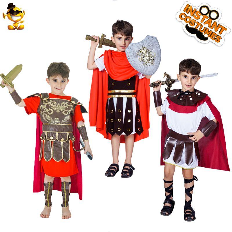SOLDATO Romano Costume Bambino Costume Tutte Le Età