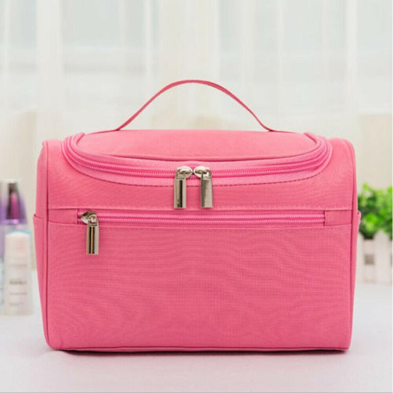 Hirigin 7 Color Professional Large Makeup Bag Cosmetic Case Storage Handle Organizer Travel Kit