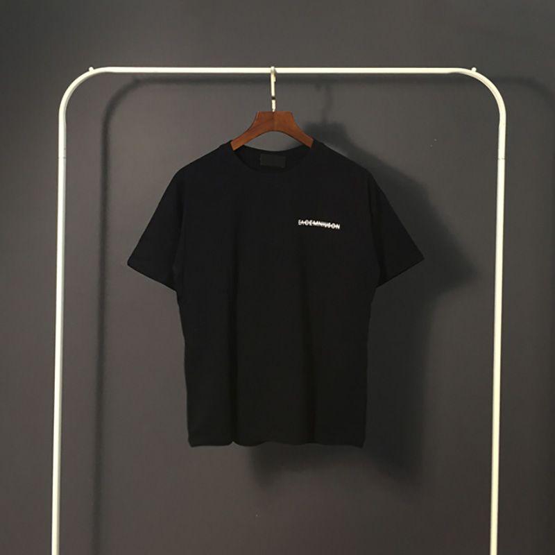 Todo-fósforo para hombre estilista Camisetas Patrón mujeres de los hombres Impreso T Shirts Hip Hop Streetwear Moda estilista camiseta del tamaño S-2XL