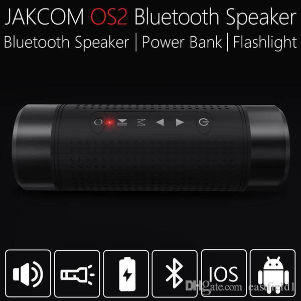JAKCOM OS2 Açık Kablosuz Hoparlör Sıcak Satış olarak Taşınabilir Hoparlörler tasfiye mod klon spor izci spor izle