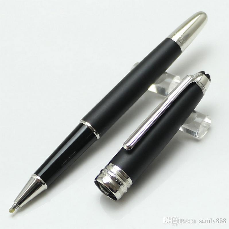 Eşsiz Tasarım Masterpiece MST-163 Siyah Tükenmez Kalem veya Rollerball Kalem Lüks Tedarik Masterpiece Üst Sınıf XY2006108