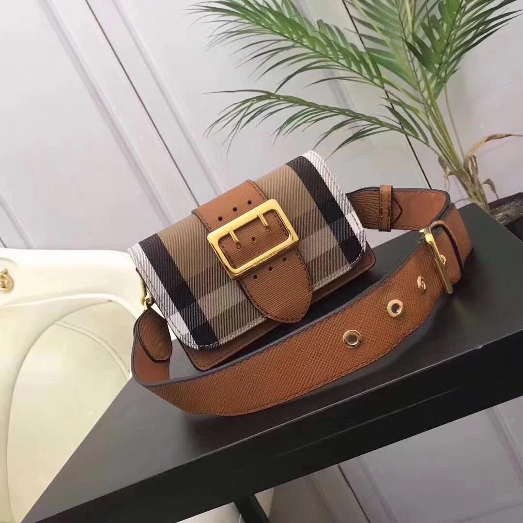 Moda famoso plaid nuove donne di Lusso Inghilterra borse a tracolla in pelle progettista Borsa di design di lusso messaggero Flap bagbc3c #