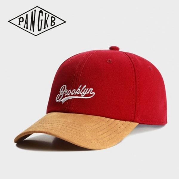 77b9d36cdf03a PANGKB Brand FASTBALL CURVED CAP BROOKLYN adjustable hip hop baseball cap  for men women adult outdoor