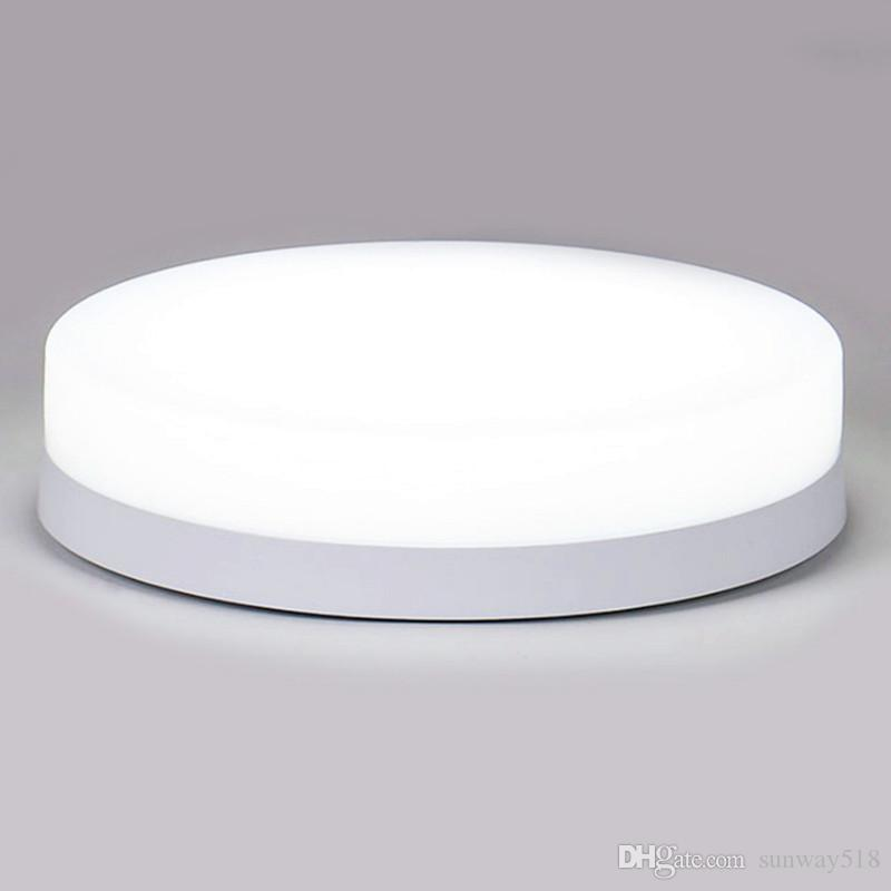 6-24W modern LED ceiling light fixture - IP44 waterproof round embedded surface mount lighting porch corridor cold white
