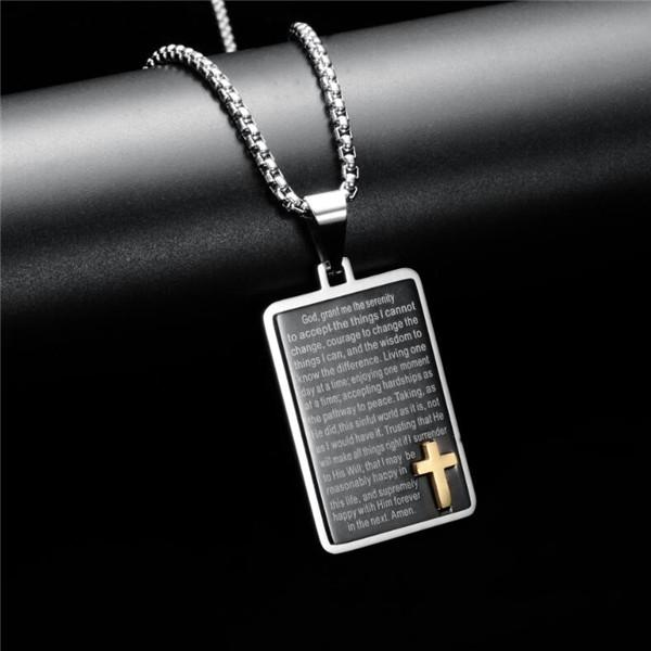 Jewelry Brothers charms Best Birthday Gift Sterling Silver Cross Pendant