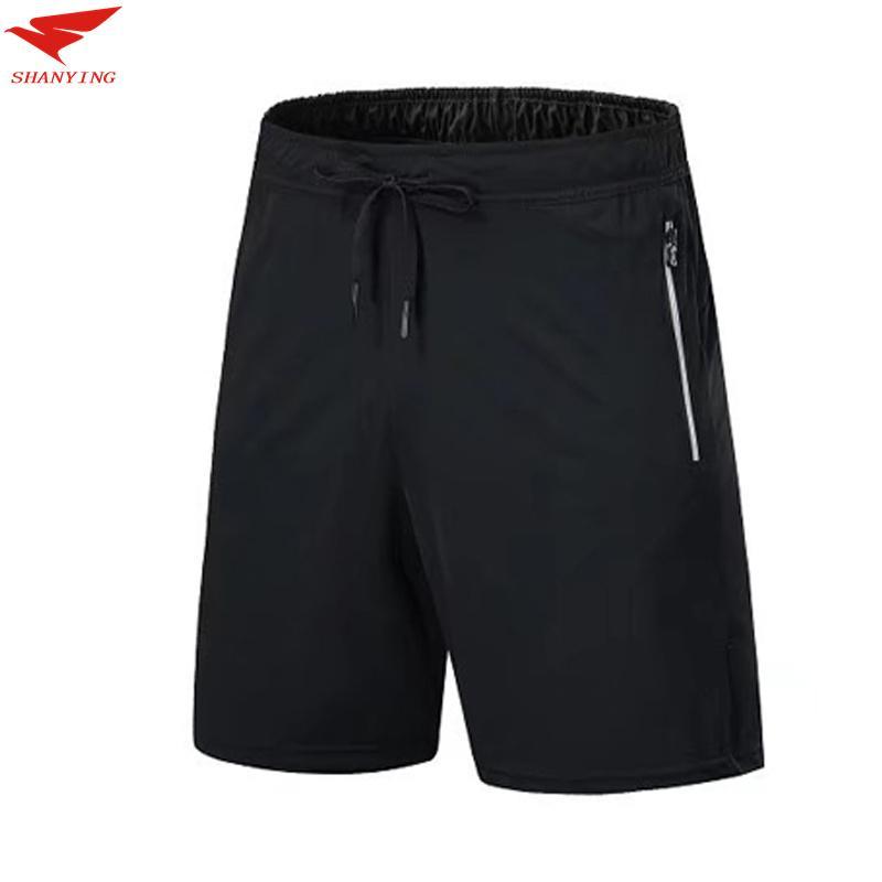 2020 Hombres Deportes Pantalones cortos para correr baloncesto entrenamiento de fútbol pantalón corto deportivo secado rápido transpirable GYM culturismo entrenamiento pantalón corto de tenis