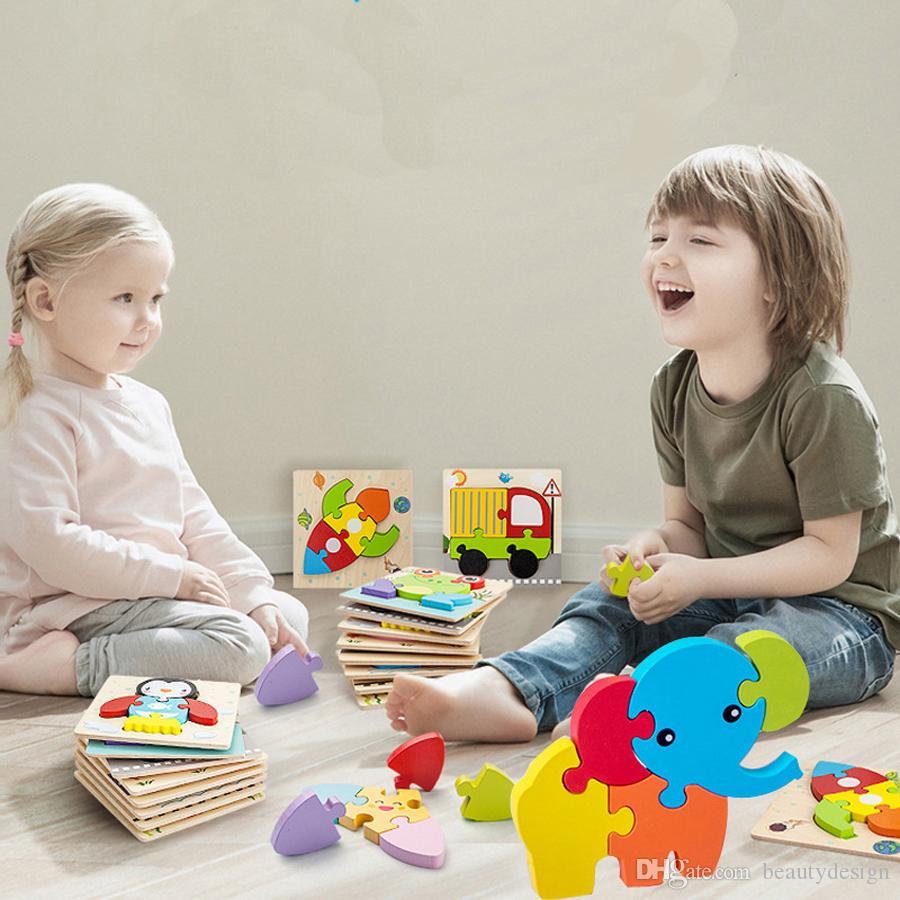 الدب الصغير تغيير اللباس لعبة اللغز لعبة خشبية مونتيسوري المبكر للتربية تغيير الملابس لغز ألعاب للحصول على هدايا للأطفال