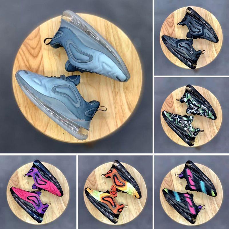 Nike air max 720 Jugend Laufschuhe Kind-Turnschuhe max Unrund Tür Sport-Schuhgröße 28-35 72o atmosphärischen Kissenpolster