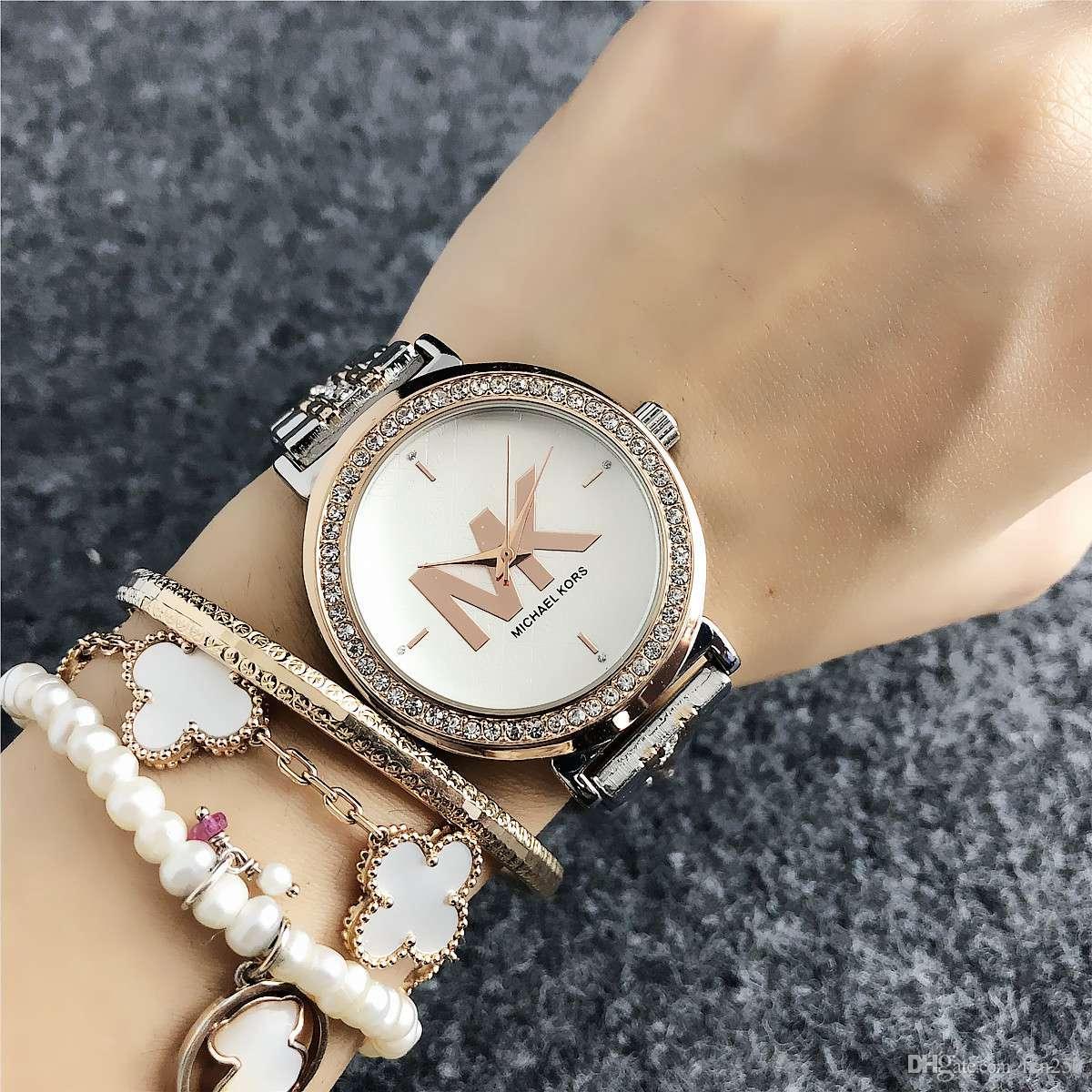 Fashion Damenuhr Luxus weibliche Uhr Edelstahlarmband Diamant Montre Femme 2019 Quarz Damen Relogio Feminino beobachten