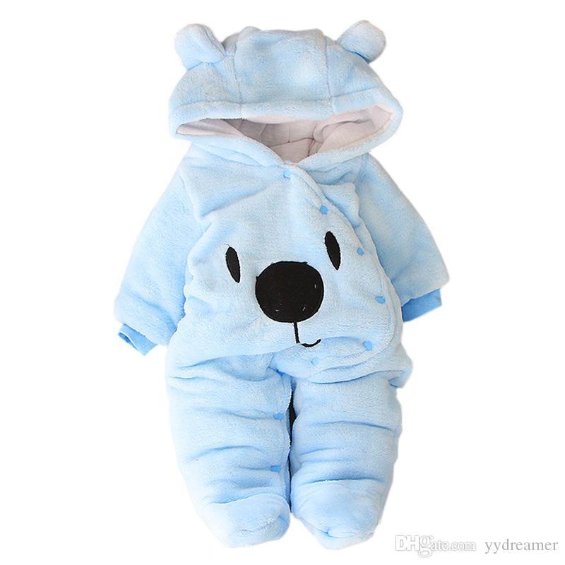 I vestiti del bambino di inverno per la principessa ragazze complesso autunno manica lunga Newborn costume pagliaccetto del bambino per i ragazzini tuta Abbigliamento Bambino