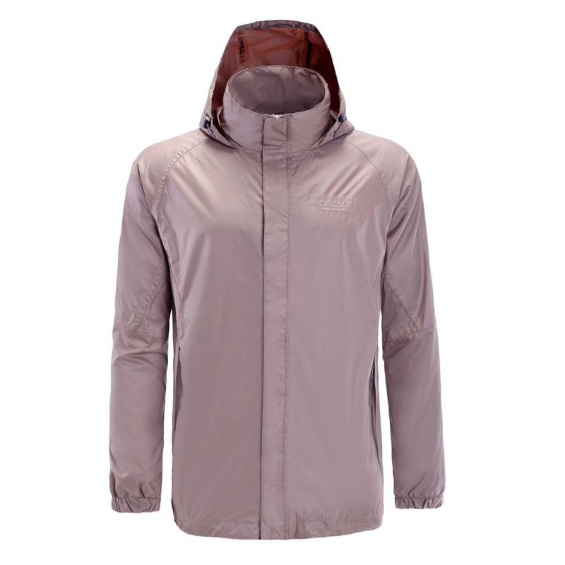 Europe And America Spring And Summer-Outdoor Raincoat Men Thin Jacket Quick-Drying Sports Trench Coat Mesh Single Layer Raincoat