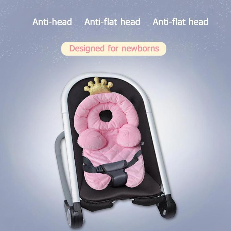 Baby Stroller Cushion Newborn Baby Car Seat Cover Safety Neck Protection Pad Children Body Support Pillow Stroller Accessories