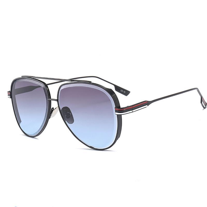 Shades Hommes Lunettes Pilote Épais Nouveau CLASSIC MODE SUN CONDUITE UV400 Cadre de la marque Hommes Femmes Lunettes de soleil Gafas Wroolesale Sol Vuswn