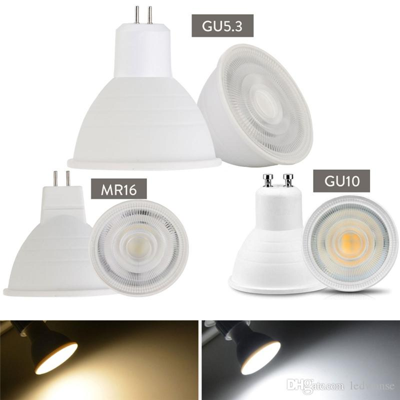 LED 스포트 라이트 E27 E14 GU10 GU5.3 7W MR16는 통 테이블 램프 램프 (24) 빔 각도 스포트 라이트 LED 전구를 주도