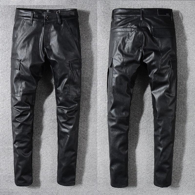 New Style novíssimo Mens Jeans afligido rasgado Biker Jeans Slim Fit Motociclista Denim Jeans Moda Pants Designer 1002