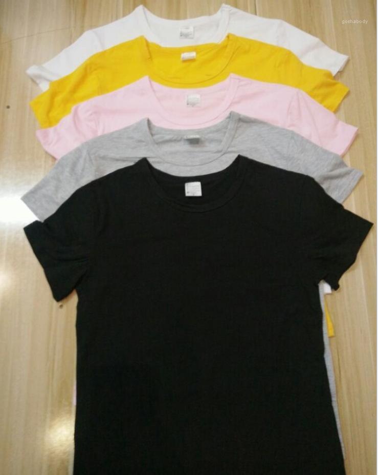 Femmes T-shirt à manches courtes encolure ras du cou pour les femmes hauts Casual en vrac confortable sélectionl Vêtements MultiColor Imprimer Mode