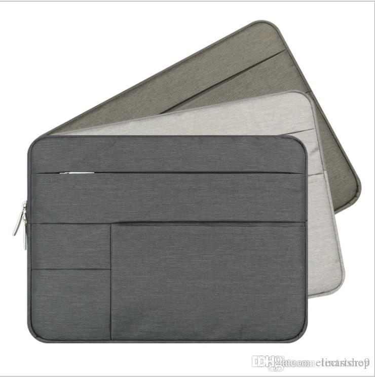 الرجال النساء المحمولة المحمولة حقيبة يد الهواء برو 12 13 14.6 حقيبة كمبيوتر محمول / كيس الأكمام ل dell hp macbook xiaomi السطح