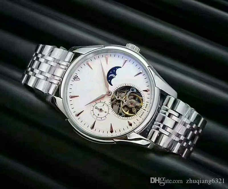 3A new luxury multifunctional leisure men's watch, stainless steel automatic watch, automatic imported mechanical core.