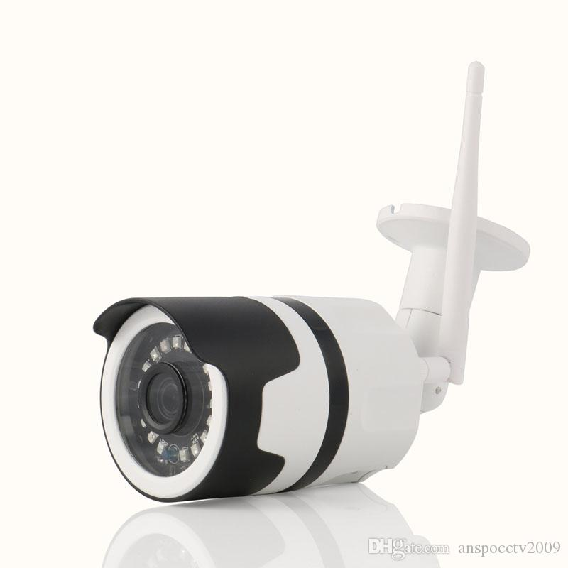 ANSPO WIFI IP كاميرا 1080 وعاء HD رصاصة طريقتين الصوت الأمن الرئيسية كاميرا IR للرؤية الليلية IP65 للماء