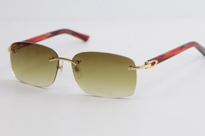 공장 도매 무선 안경 대리석 판자 8200759 금속 무리 선글라스 패션 고품질 안경 고양이 눈 남성과 여성