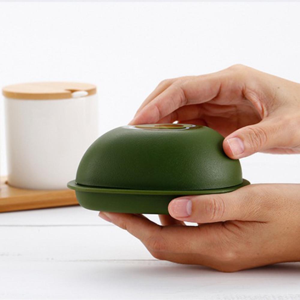 Gıda Koruyucular Seti İçin Avokado Soğan Limon Biber domates sarımsak Kaleci Saklama Kabı Mutfak Gadget