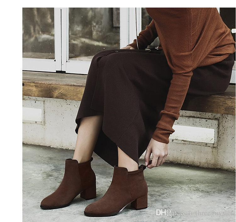 X124 Adam Bahar Rahat Çizme Nefes Işık Erkekler Dantel-up yeni kadın deri Çizme vahşi kişilik ayakkabı Moda Büyük Boy 39-46