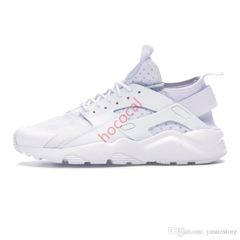 Üçlü siyah beyaz kırmızı Serin Gri pembe erkek eğitmen nefes sneaker doğa sporları yürüyüş koşu ayakkabıları hococal huarache çalıştırmak ultra erkekler kadınlar