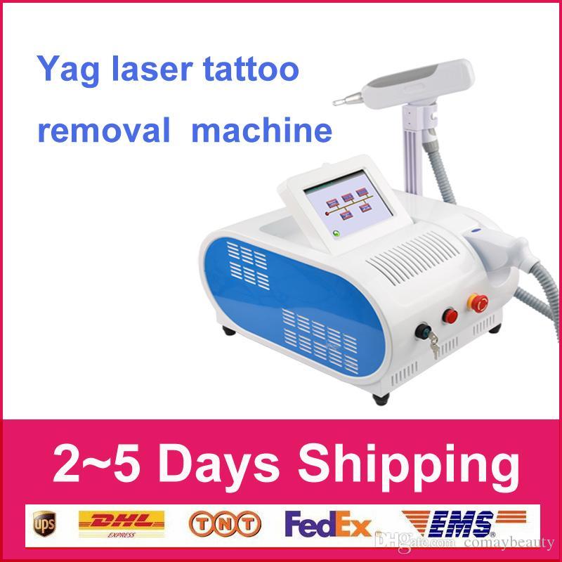 PROFESIONAL Nd Yag láser de cejas eliminación de máquina de tatuaje de cejas dispositivo de pigmentación más limpio eliminación Q INTERRUPTOR belleza fiscal de la UE libres