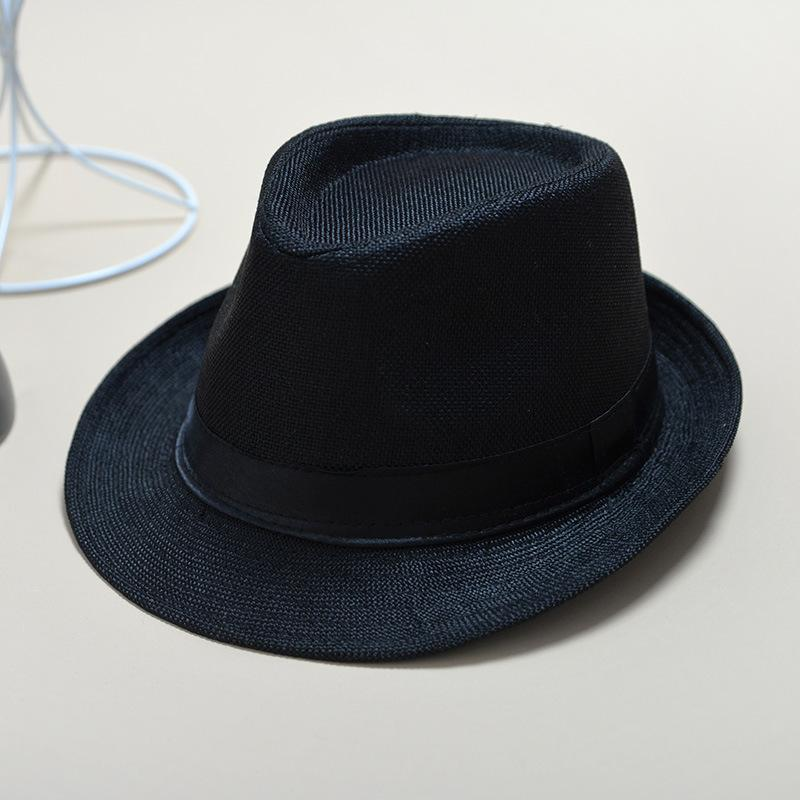 Custom child or adult fedora hat diablement t fort sun hat with black band New fashion Outdoor activities Men top hat