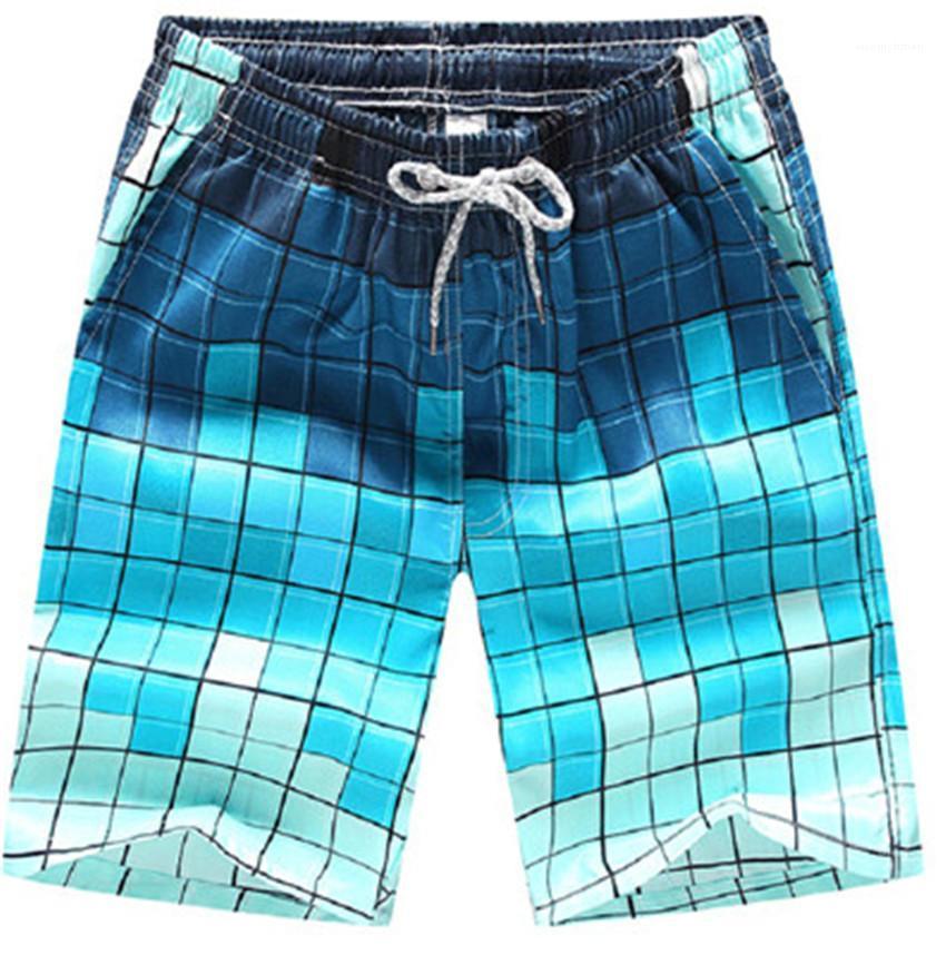 Strand Shorts Designer Patchwork Farbe Sport Herren Shorts Plus Size Homme beiläufige kurze Hosen-Sommer-Männer