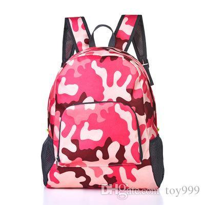 cores doces saco de moda Backpack Escola ao ar livre sacos de dobrar Unisex Duffle sacos mochilas saco de lona mochilas Armazenamento