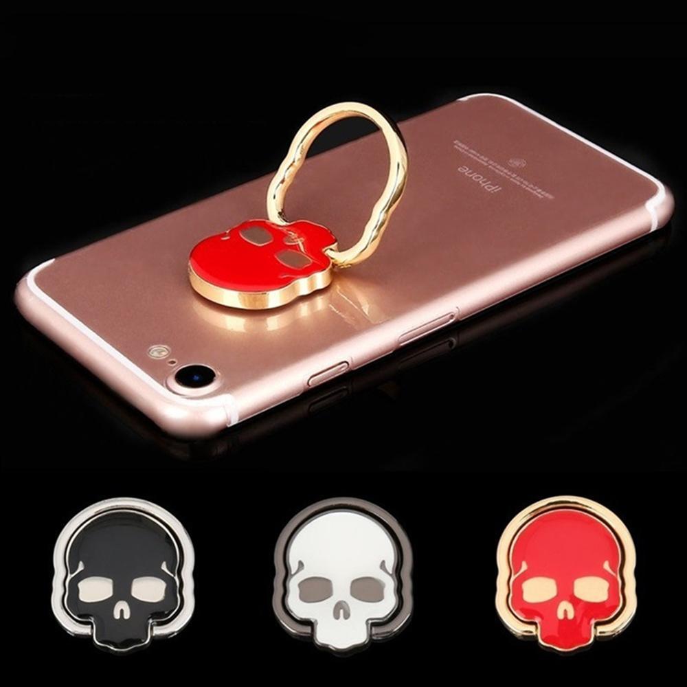 Cutie Ring für Smartphone Griff Schädel Halterung Universal Handy Halter Halterung 360 Grad Finger Halter Ständer Für iPhone Samsung