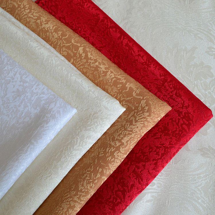 Alta qualidade Jacquard Tea Toalha de hotel Toalhas guardanapo Mouthwatering toalha de mesa limpa copo branco Red Serviette De Tabela T191024