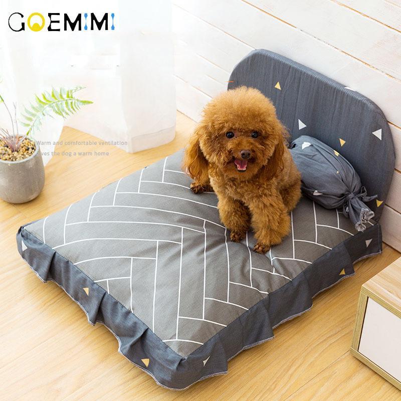 الكلب السرير وسادة ل كلب كبير جميل جرو تنفس الكلب منزل الوسادة عش أريكة أريكة بطانية حصيرة للحيوانات Y200330