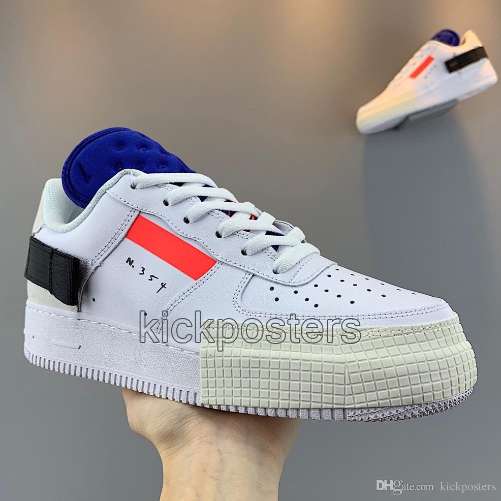 Nuovo 1 Tipo Scarpe da uomo da uomo Stilista da donna Scarpe da ginnastica bianche N354 Sneakers Anatra nera Scarpe da corsa da basket 1s