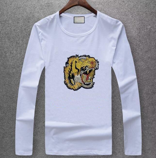 Hot Designer T Shirt Men Women High Quality Casual Long Sleeve Mens Designer Letter Print T Shirt Tees Size M-XXXL