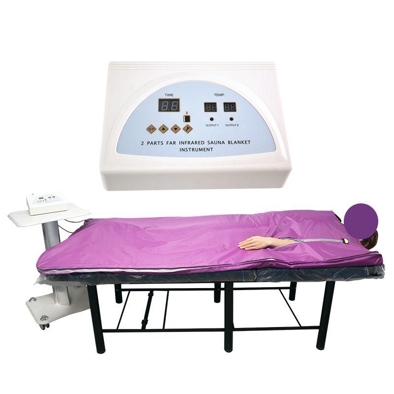 Безопасное и быстрое похудение одеяло тела сауна пихта Дальняя инфракрасная сауна одеяло сауна сумка СПА потеря веса терапия детоксикация машина
